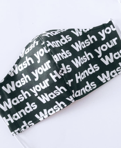Wash you Hands Mask