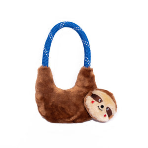 ZippyPaws RopeHangerz - Sloth Dog Toy