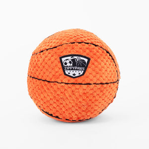 ZippyPaws SportsBallz - Basketball Dog Toy