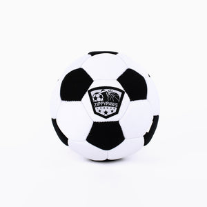 ZippyPaws SportsBallz - Soccer Dog Toy