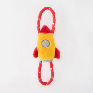 ZippyPaws RopeTugz® - Spaceship Dog Toy