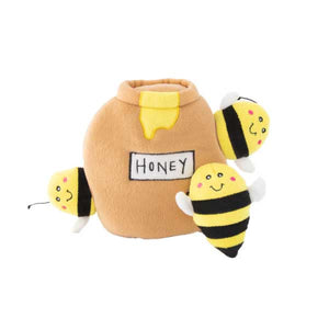 ZippyPaws Zippy Burrow - Honey Pot Dog Toy