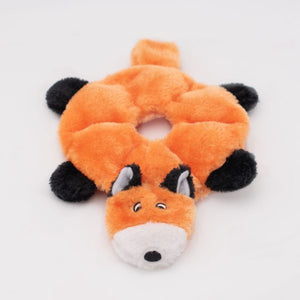 ZippyPaws Loopy Fox Dog Toy