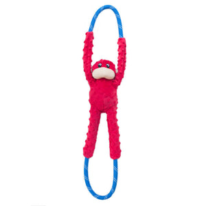ZippyPaws Monkey RopeTugs Dog Toy