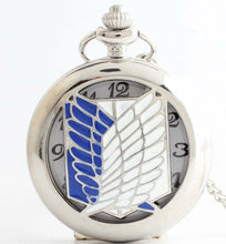 Attack On Titan Anime Show Collectible Pocket Watch Clock necklace gift of time japanimation