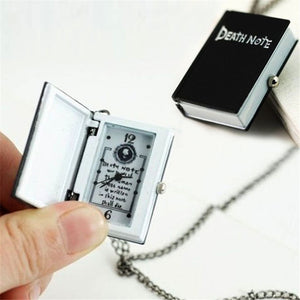 Deathnote Anime TV Show Book Notebook Pocket Watch Clock Necklace cosplay Breezy Styles