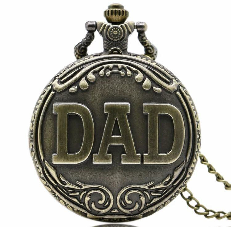 Dad Pocket Watch Father Papa collectible timeless gift christmas fathers day