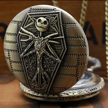 Jack Skellington Disney Pocket Watch