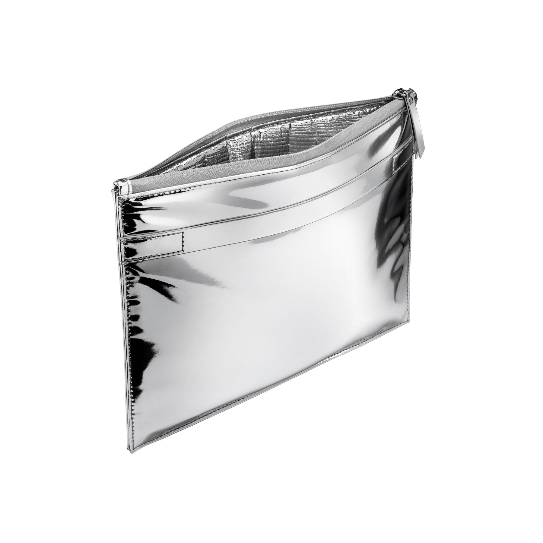 WELLinsulated Pouch | Thermal Silver Clutch