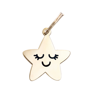 Pet ID Tag - Smiling Star