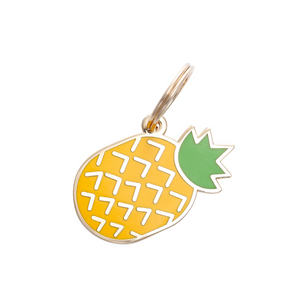 Pet ID Tag - Pineapple