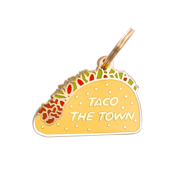 Pet ID Tag - Taco the Town