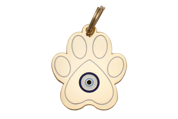 Pet ID Tag - Paw Evil Eye