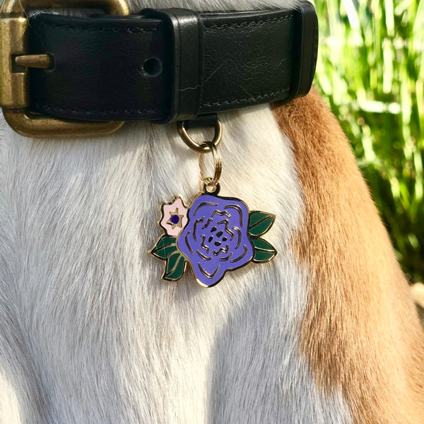 Pet ID Tag - Wild Flower