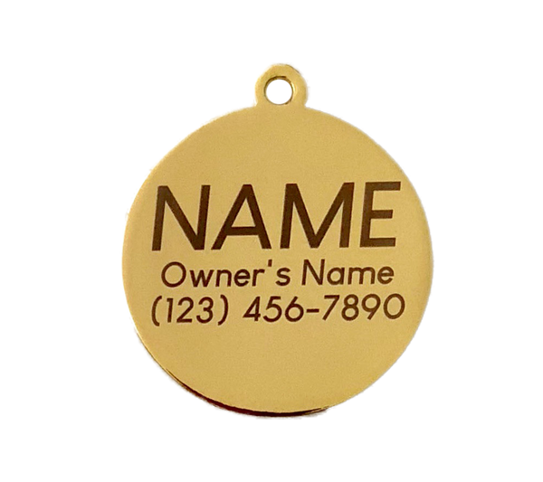 Pet ID Tag - Have Your People - Navy