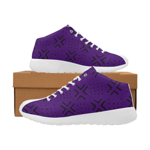 Women's Mud Cloth Trainers (Purple)