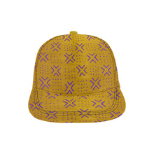 Snapback Cap 11 (Gold Purple)