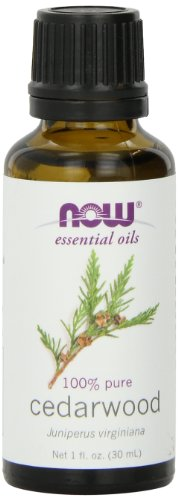NOW  Cedarwood Oil, 1-Ounce (Pack of 2)