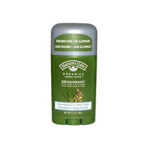 Nature's Gate Deodorant, Lemongrass & Clary Sage, 1.7 Ounce
