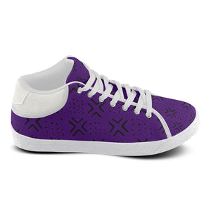Men's Mud Cloth Kicks (Purple)