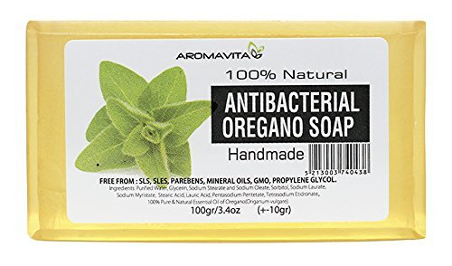 Antibacterial Oregano Oil Soap , Natural Soap For Athletes Foot , Jock Itch And Odors , Helps Cleanse the Skin , Nail Fungus, Ringworm , Acne and Other Unwanted Skin Irritations