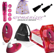 Womanizer W500 Deluxe Pro - [ Color: Rose ] Sold by CKSHOPPE Authorized USA Womanizers Dealer (Also Includes B. Brand Bundle Kit) WN: 9660