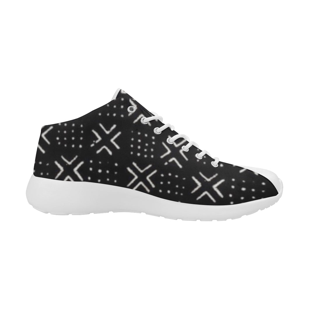 Women's Mud Cloth Trainers (Black)