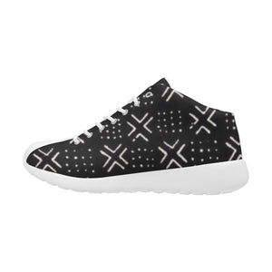 Men's Mud Cloth Trainers (Black)