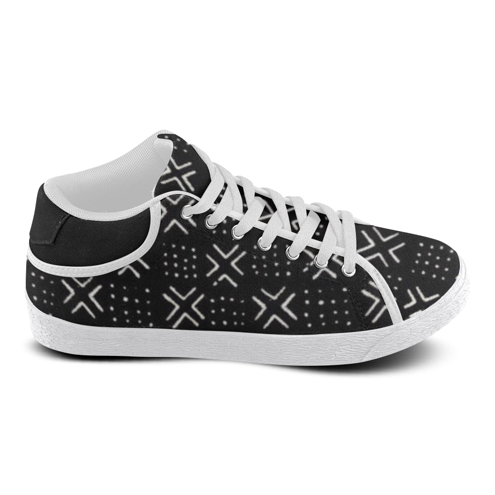 Women's Mud Cloth Kicks (Black)