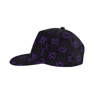 Snapback Cap 11 (Black Purple)