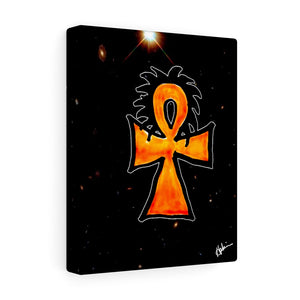 Ankh with Locks (Canvas)