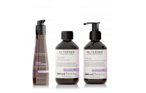 Repair Haircare Set for Damaged, Brittle Hair
