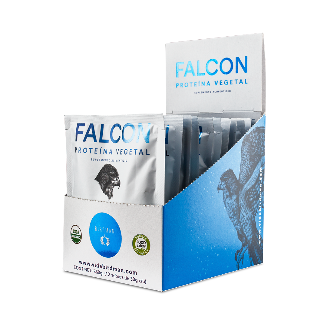 Proteína Falcon Chocolate (12 sobres)