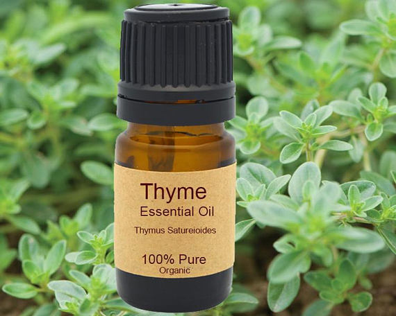 Thyme Essential Oil Organic 5 ml, 10ml or 15 ml-Fablyst