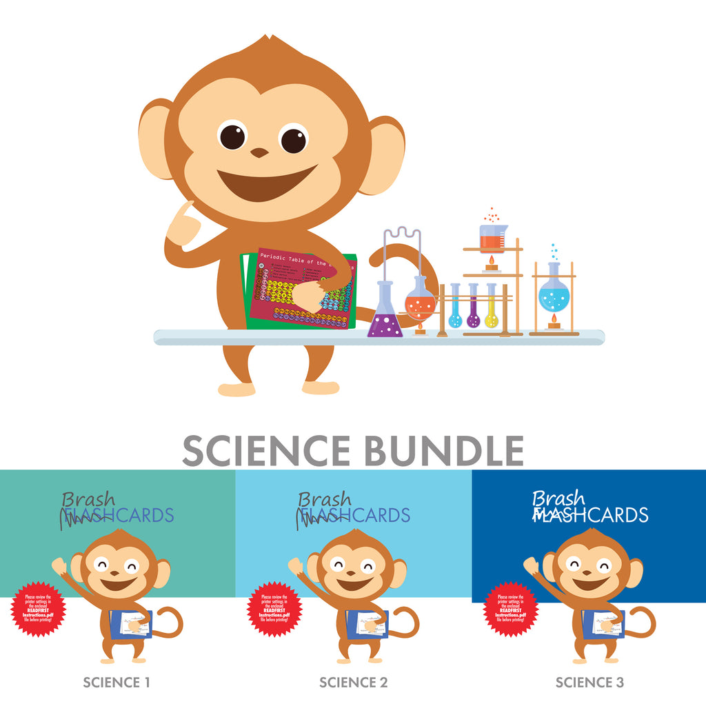 Bundle: Science-Themed Brashcards