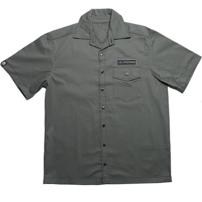 Camisa Workshirt Cinza Like Streetwear