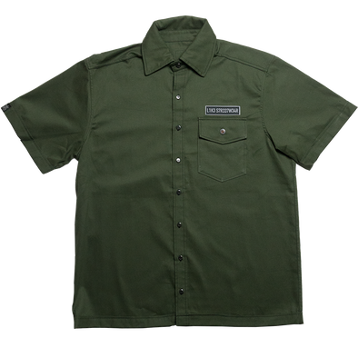 Camisa Workshirt Verde Like Streetwear