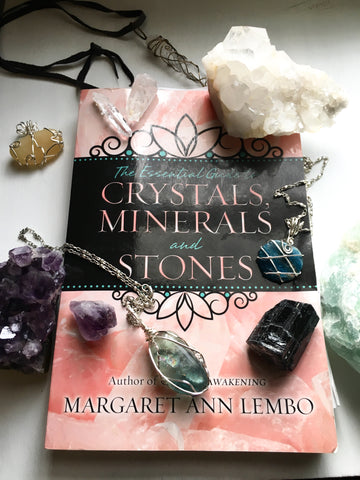 Crystals Minerals and Stones by Margaret Ann Lembo