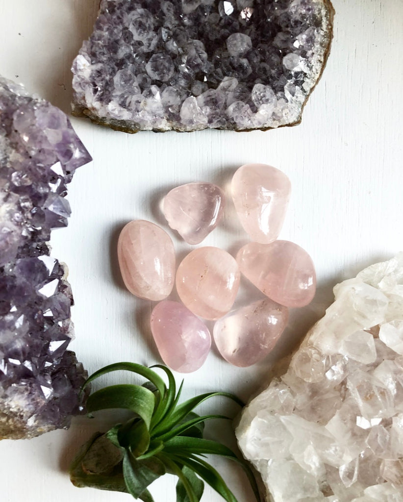Rose Quartz AAA Grade Tumbled Crystal Unconditional Love