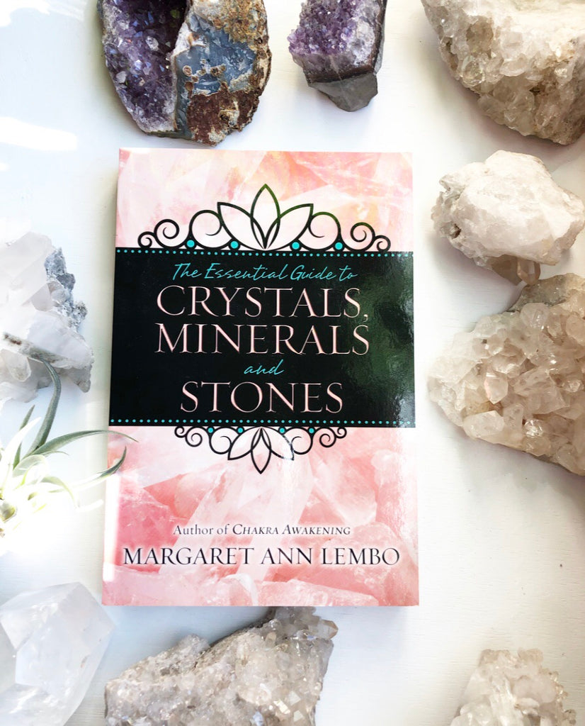 The Essential Guide to Crystals Minerals and Stones by Margaret Ann Lembo Book