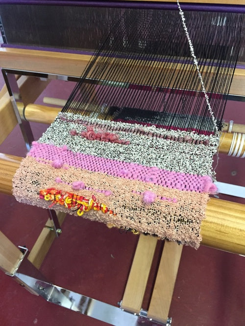 What I Learned in My Saori Weaving Class (Other Than How to Weave)