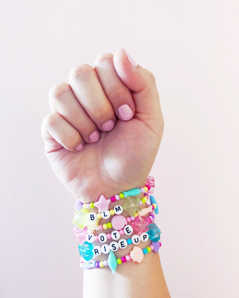 Make Your Own Message Bracelets