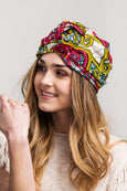 Modern Turban - Dutch Waxprint