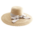 Meadow Hat - Natural with Mauve