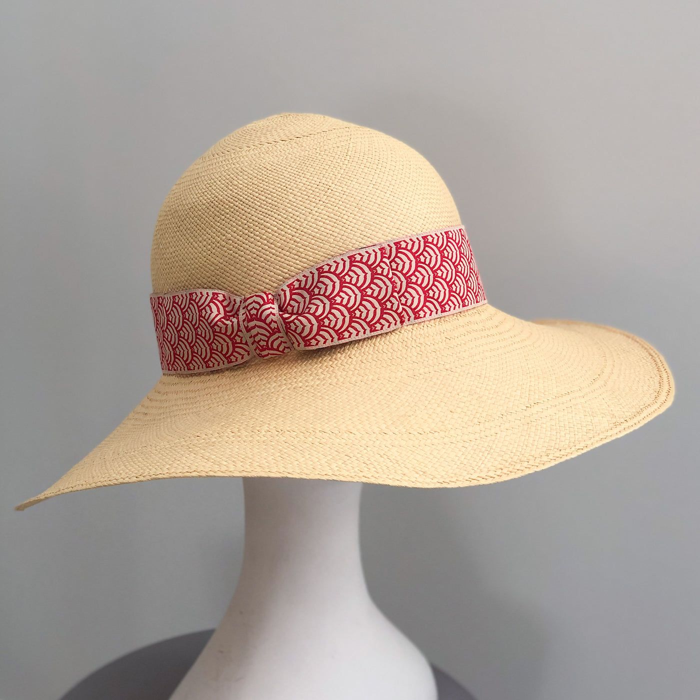 Sun Hat - Yellow with Red