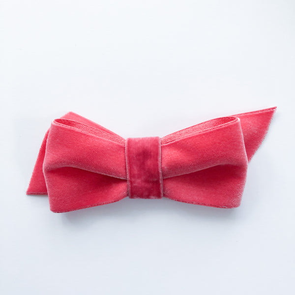 Velvet Bow - Pinks