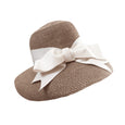 Willow Hat - Mocha with Ivory