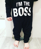 Boss Baby Collection! Tell them who Rules with the BOSS bodysuit!