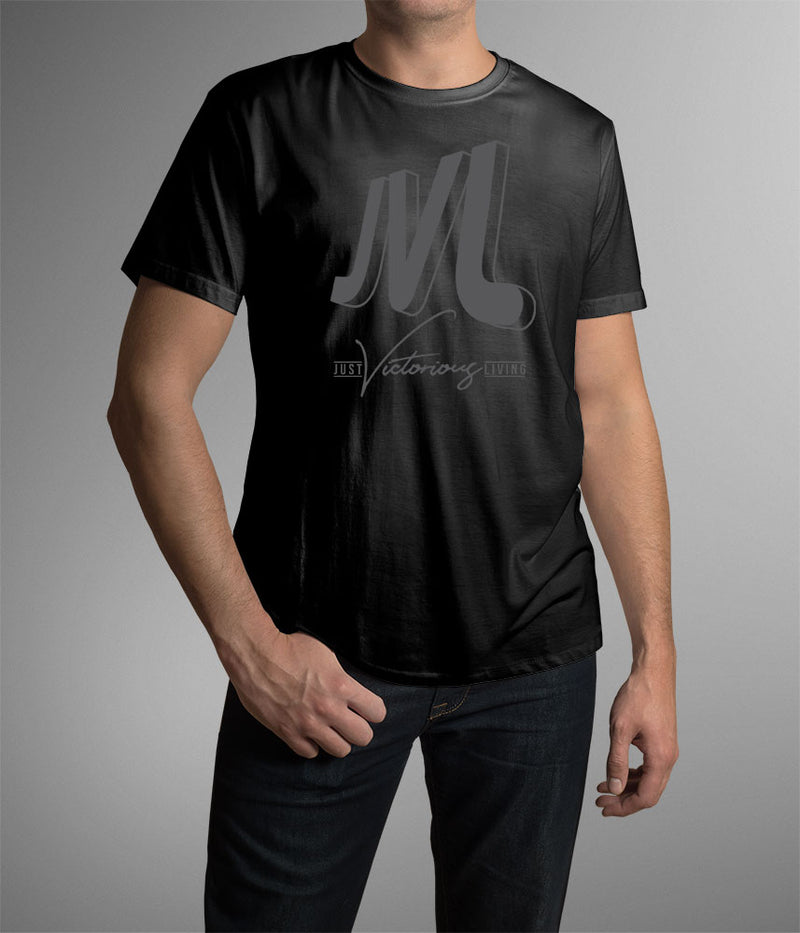 JVL Black Short Sleeve Shirt