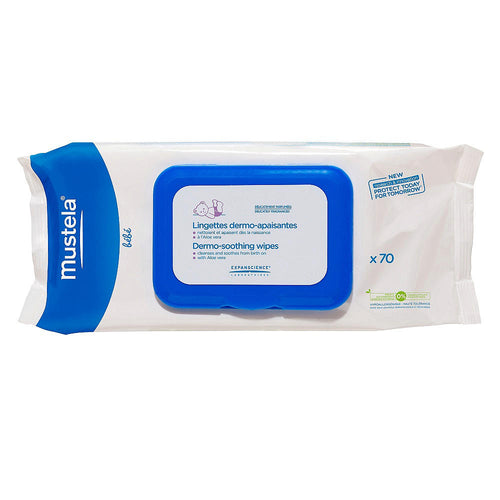 Mustela Dermo Soothing Wipes